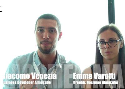 Emma Varotti e Giacomo Venezia